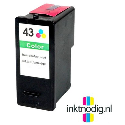 Lexmark inktpatroon 43XL kleur (Huismerk)