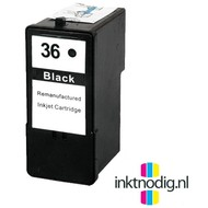 Lexmark inktpatroon 36XL zwart (Huismerk)