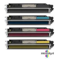 HP 126A (CE310, 11, 12 & 13) toner voordeelset (Huismerk)