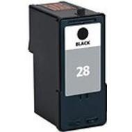 Lexmark inktpatroon 28 zwart (Huismerk)