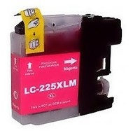 Brother Inktpatroon LC-225 magenta  (Huismerk)