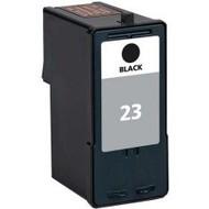 Lexmark inktpatroon 23 zwart (Huismerk)