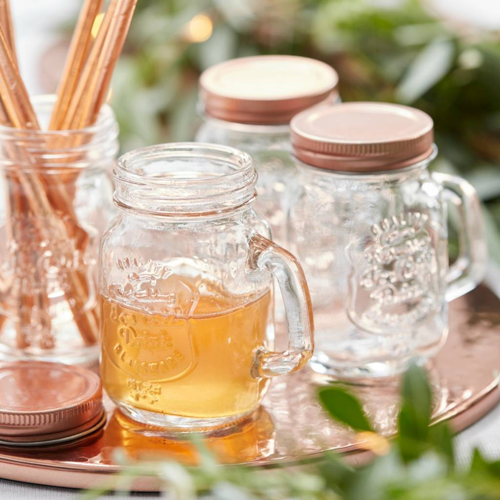 GINGERRAY Mini Glass Jars