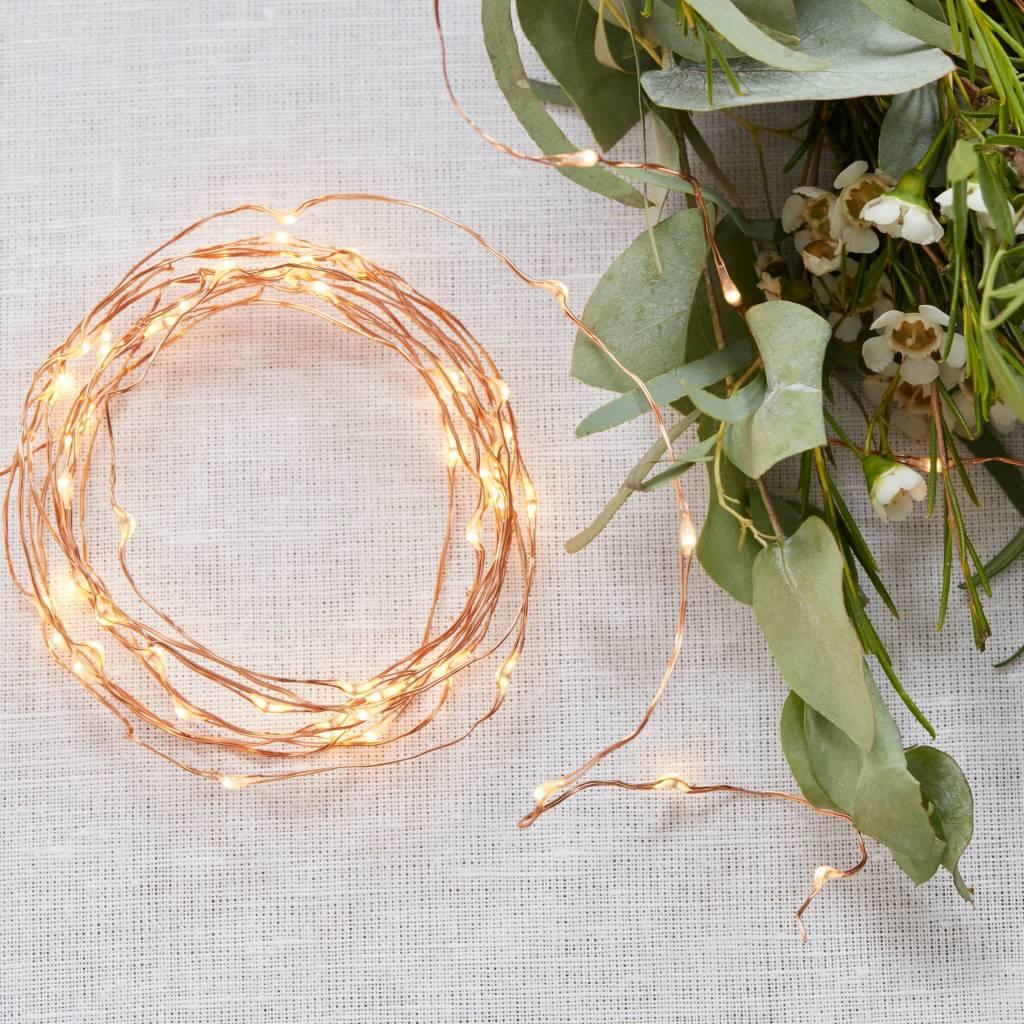 GINGERRAY String Lights - Rose Gold