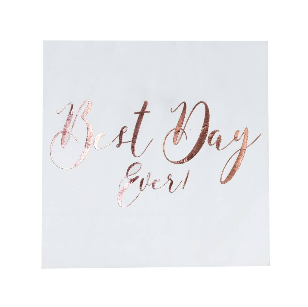 GINGERRAY Napkins - Best Day Ever