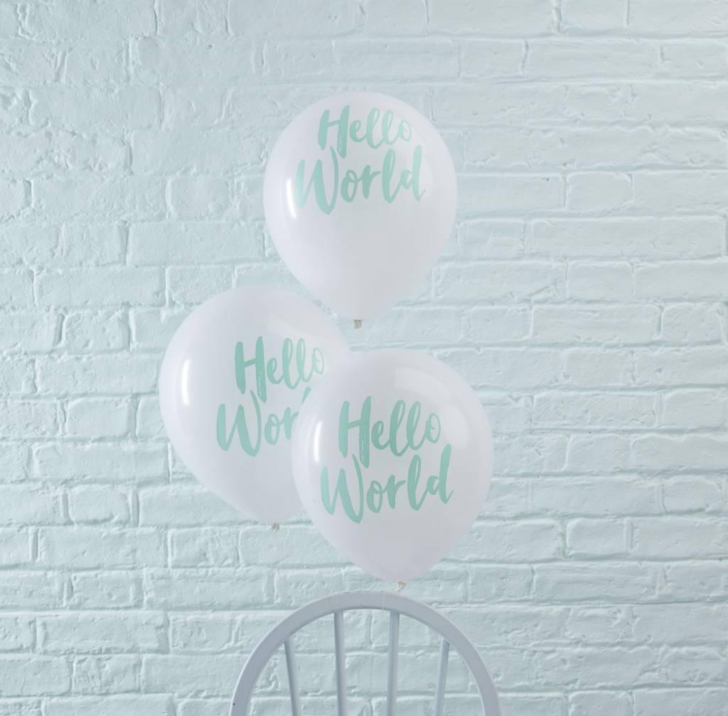 GINGERRAY Hello World - Balloons