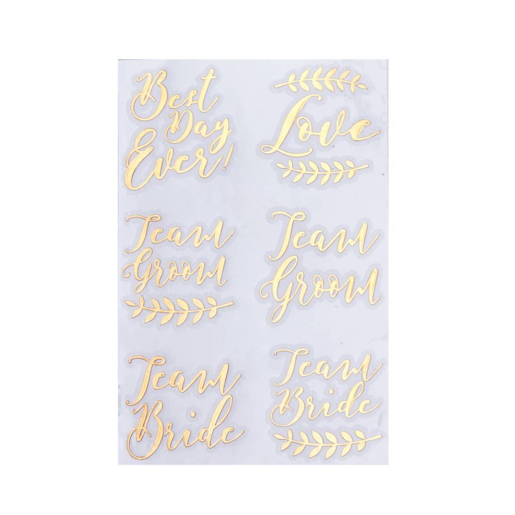 GINGERRAY Tattoos - Rose Gold