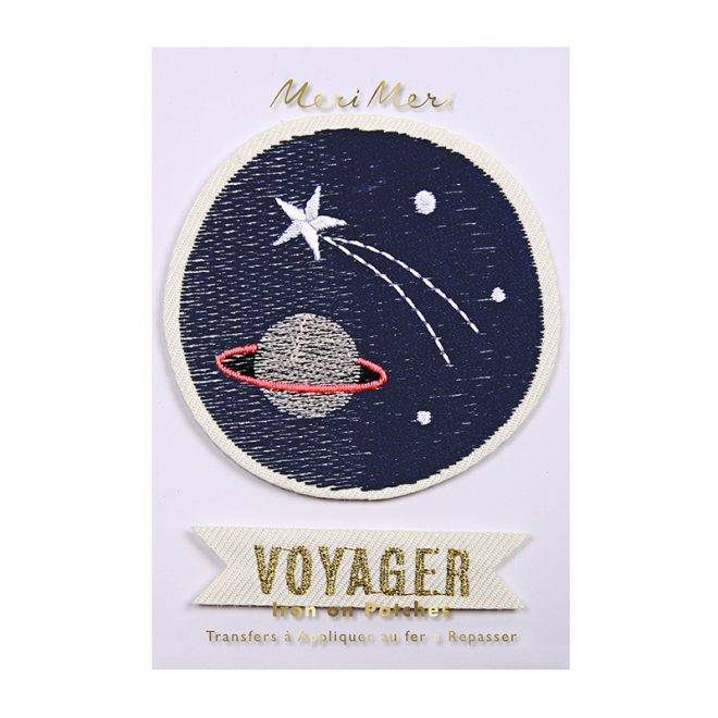 MERIMERI Space voyager patches