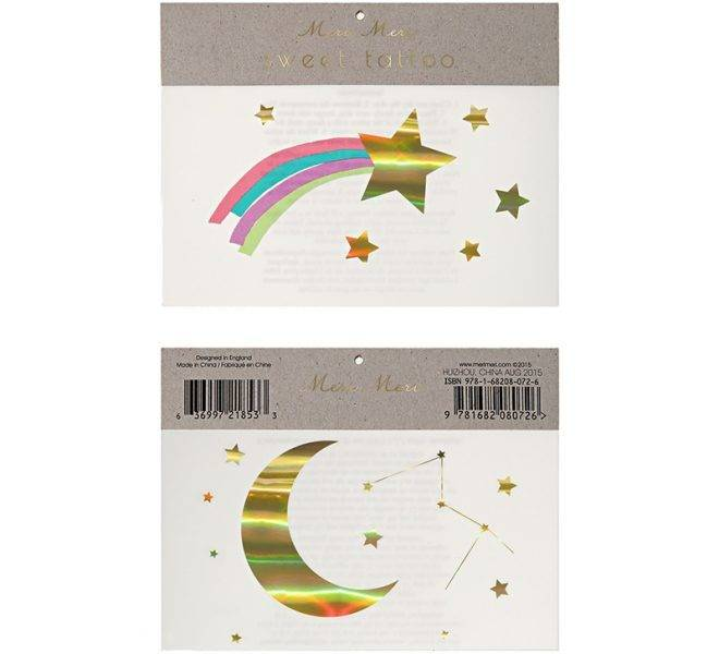 MERIMERI Shooting star tattoo