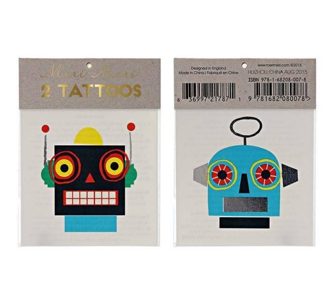 MERIMERI Robot tattoos