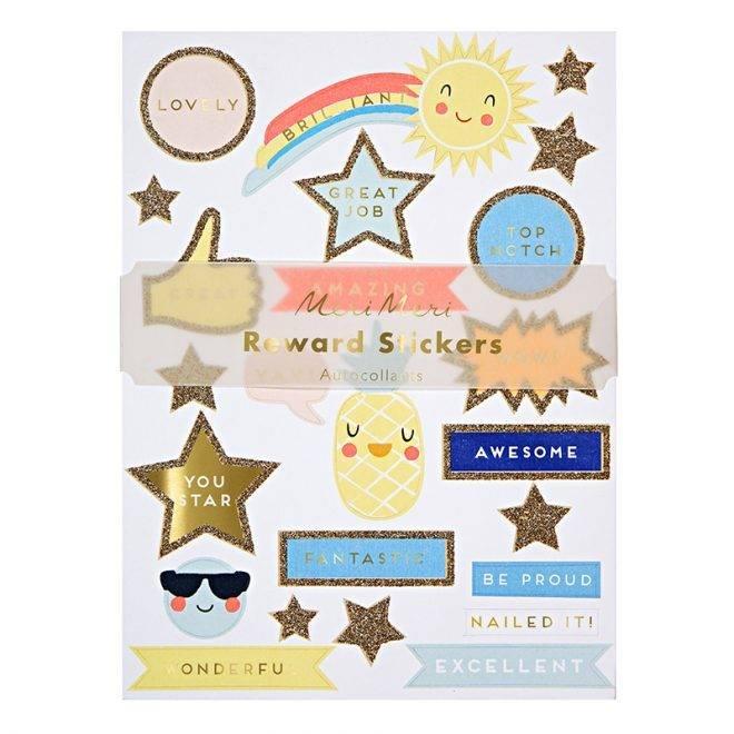 MERIMERI Reward stickers