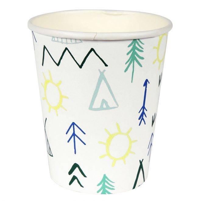 MERIMERI Let's explore party cups