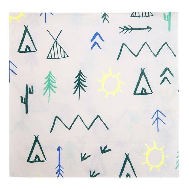 MERIMERI Let's explore large napkins
