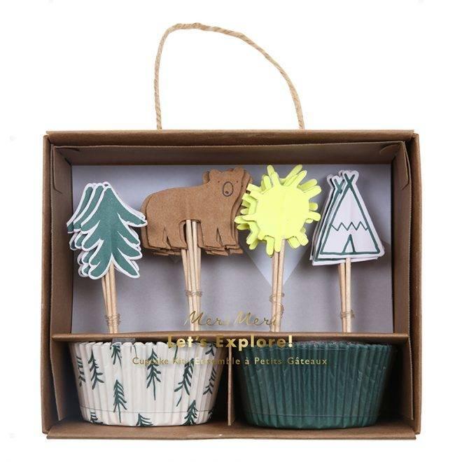 MERIMERI Let's explore cupcake kit