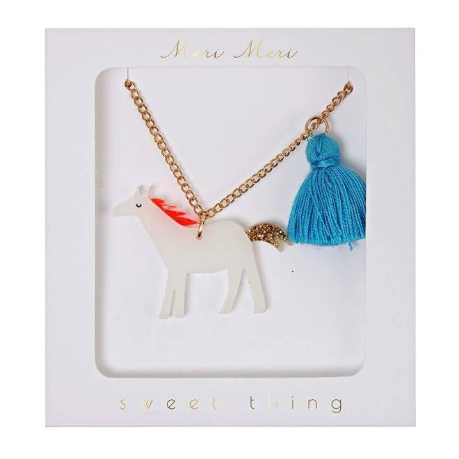 MERIMERI Horse tassel necklace