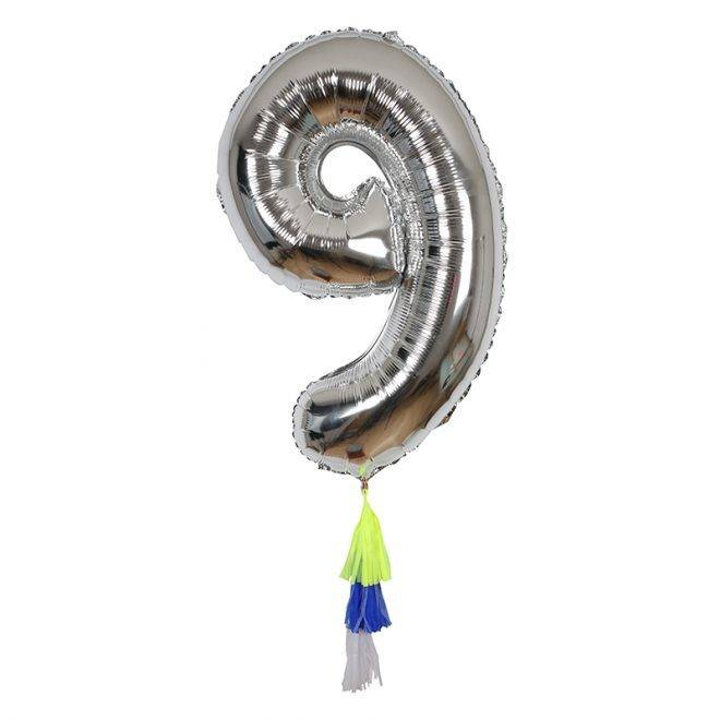 MERIMERI Fancy number balloon 9