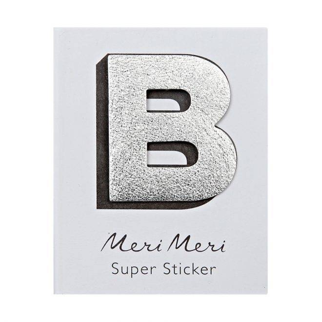 MERIMERI Leather sticker B