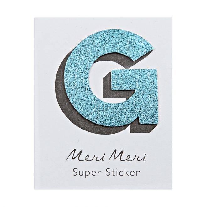 MERIMERI Leather sticker G