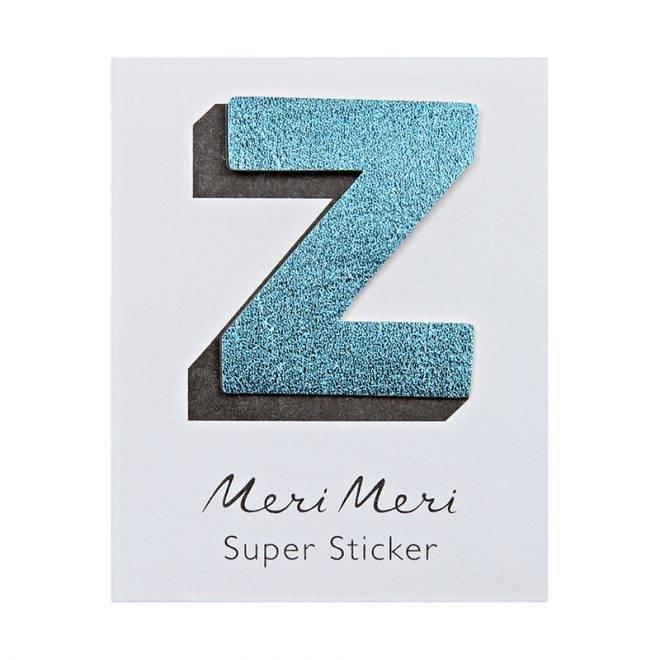 MERIMERI Leather sticker Z