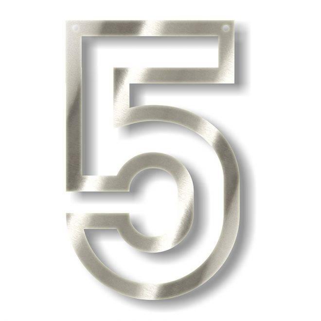 MERIMERI Silver acrylic bunting 5