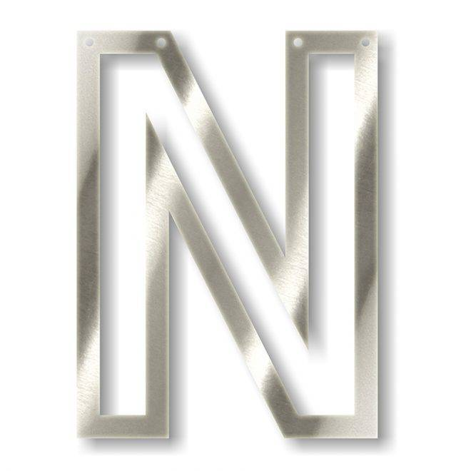 MERIMERI Silver acrylic bunting N
