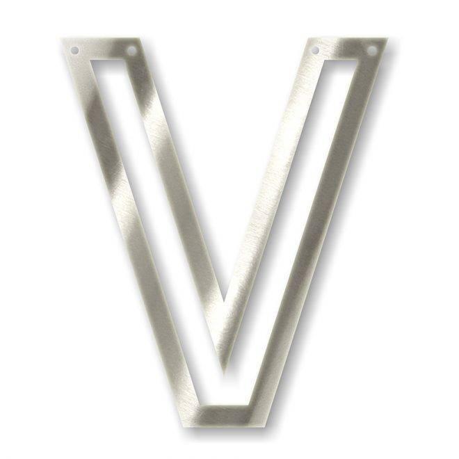 MERIMERI Silver acrylic bunting V