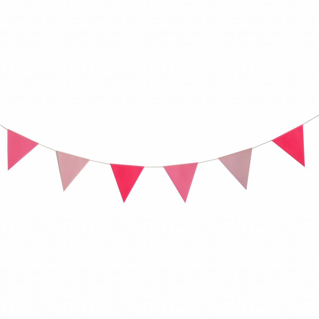 MY LITTLE DAY pink bunting