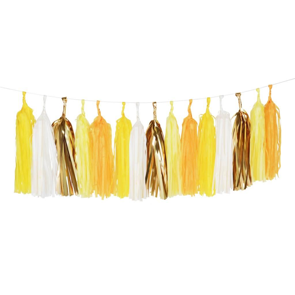 MY LITTLE DAY tassel garland yellow
