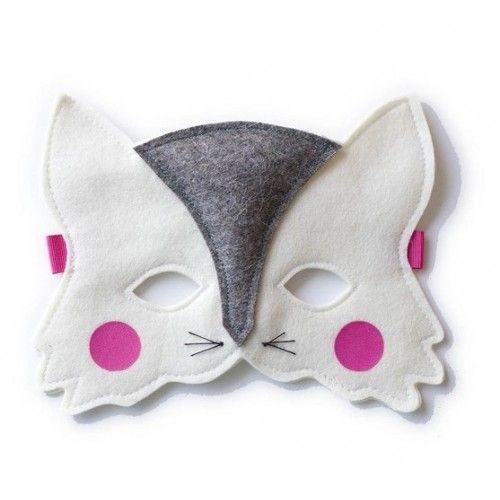 FRIDAS TIERCHEN felt cat mask