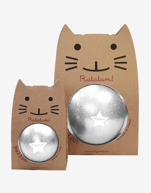 RATATAM ball silver glitter