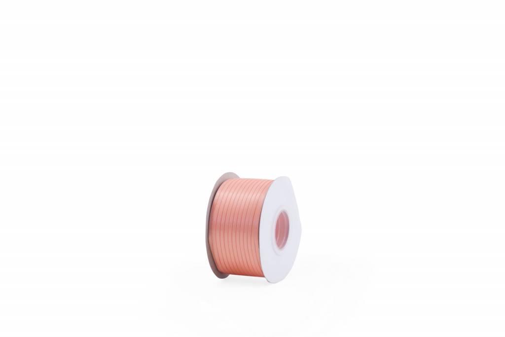 KD ribbon satin petal peach 4mm