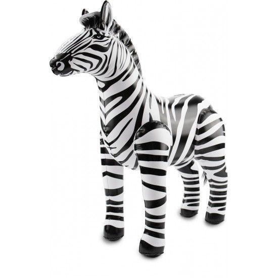 FT inflatable zebra 60x55 cm