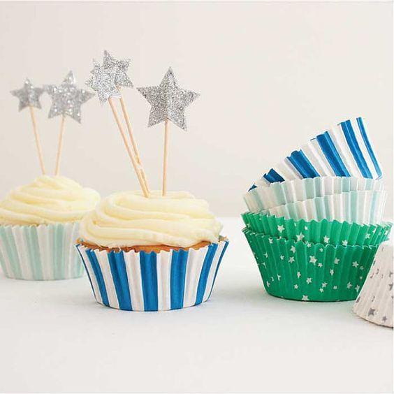 MERIMERI Cupcake kit blue