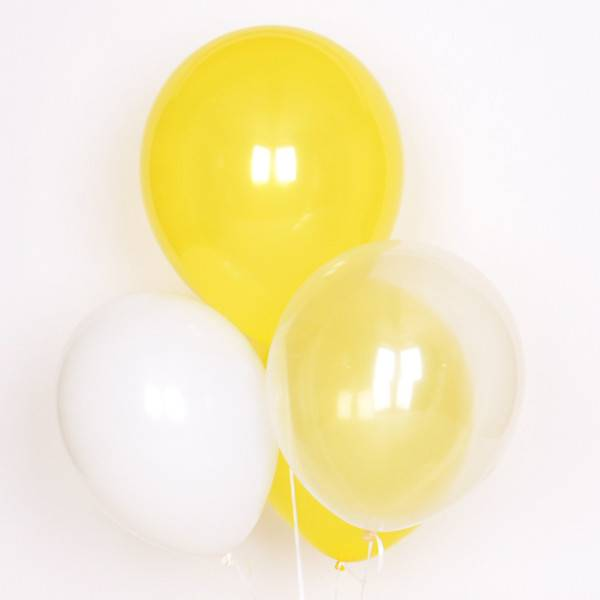 MY LITTLE DAY 10 mix balloons- yellow