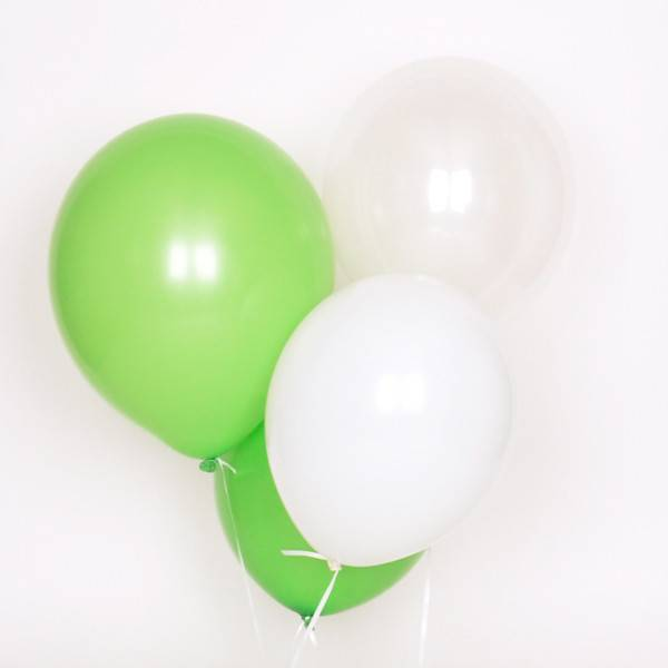 MY LITTLE DAY 10 mix balloons- green
