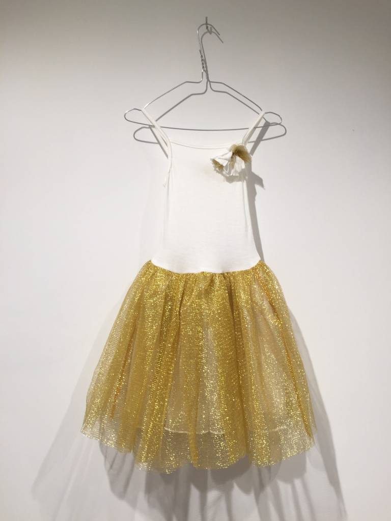 RATATAM ball dress gold 8y.