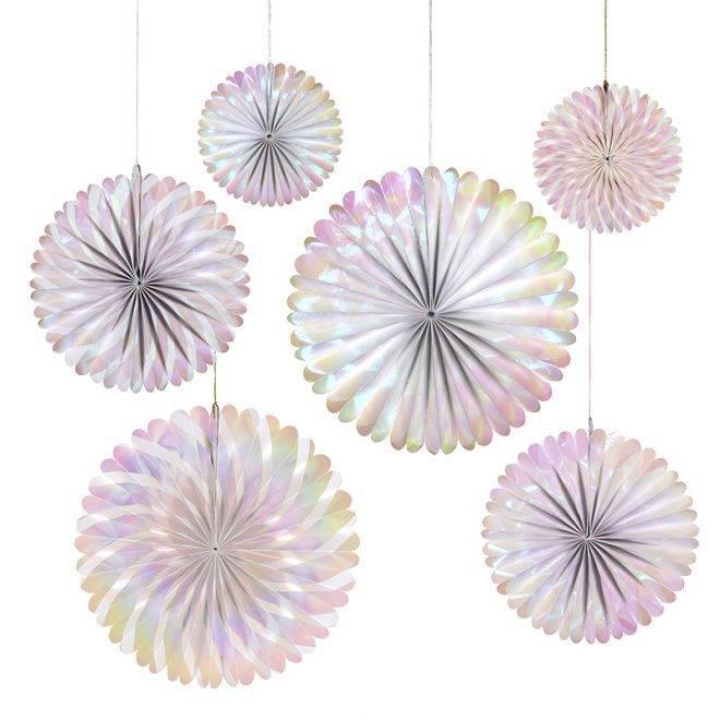 MERIMERI iridescent pinwheels