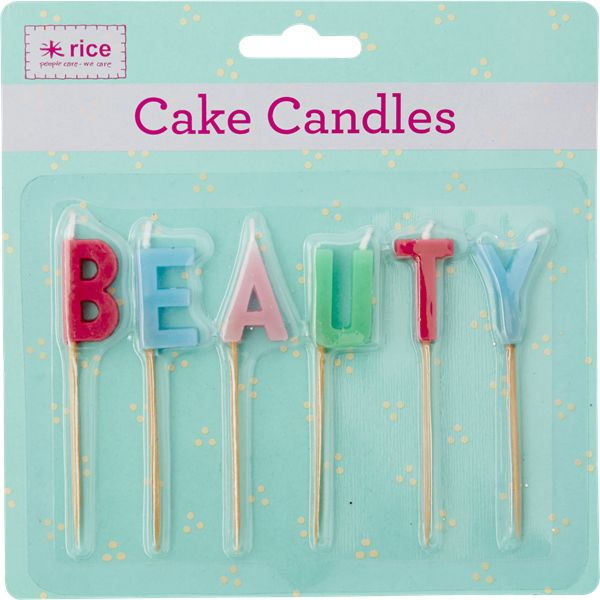 RICE beauty candles