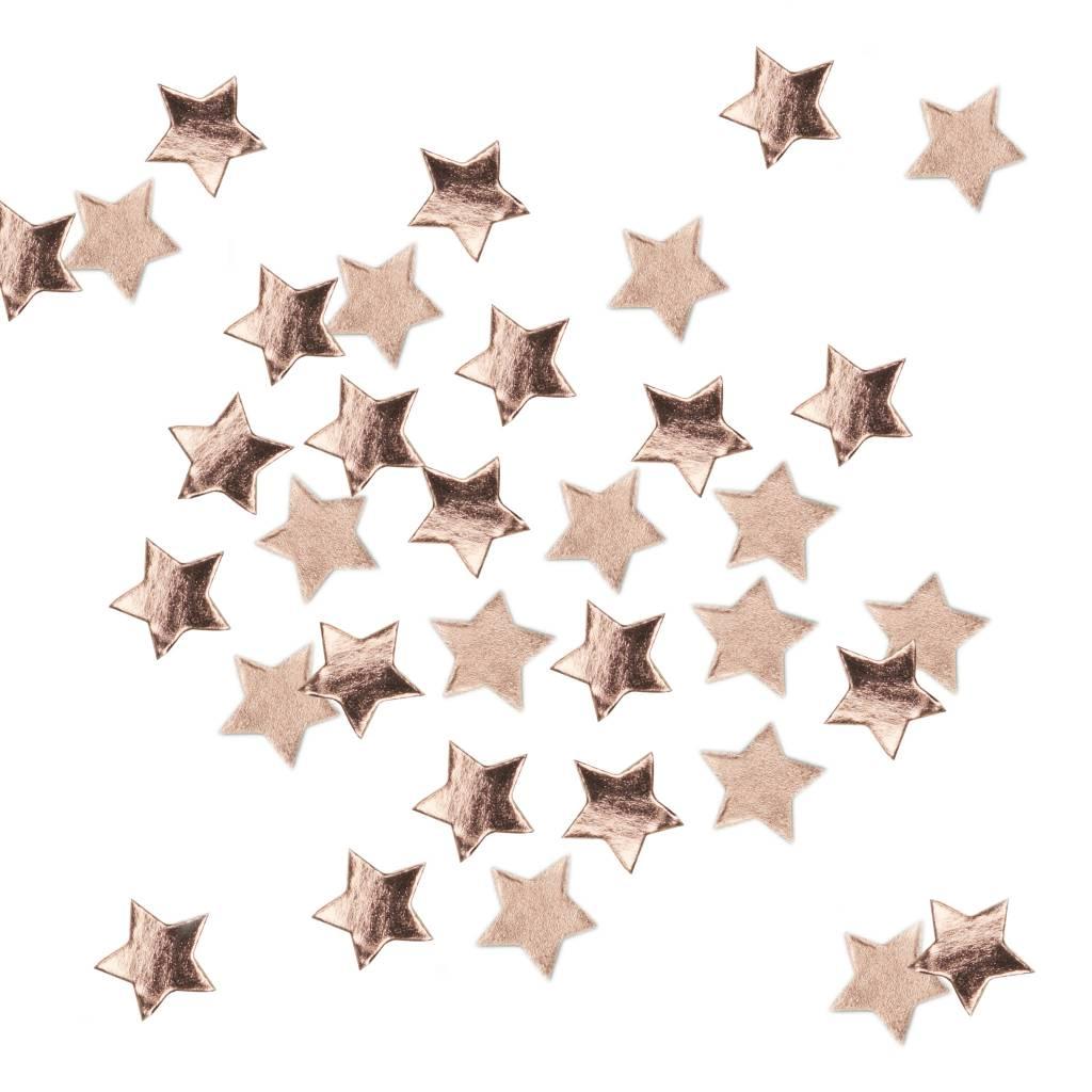 GINGERRAY star confetti rose gold