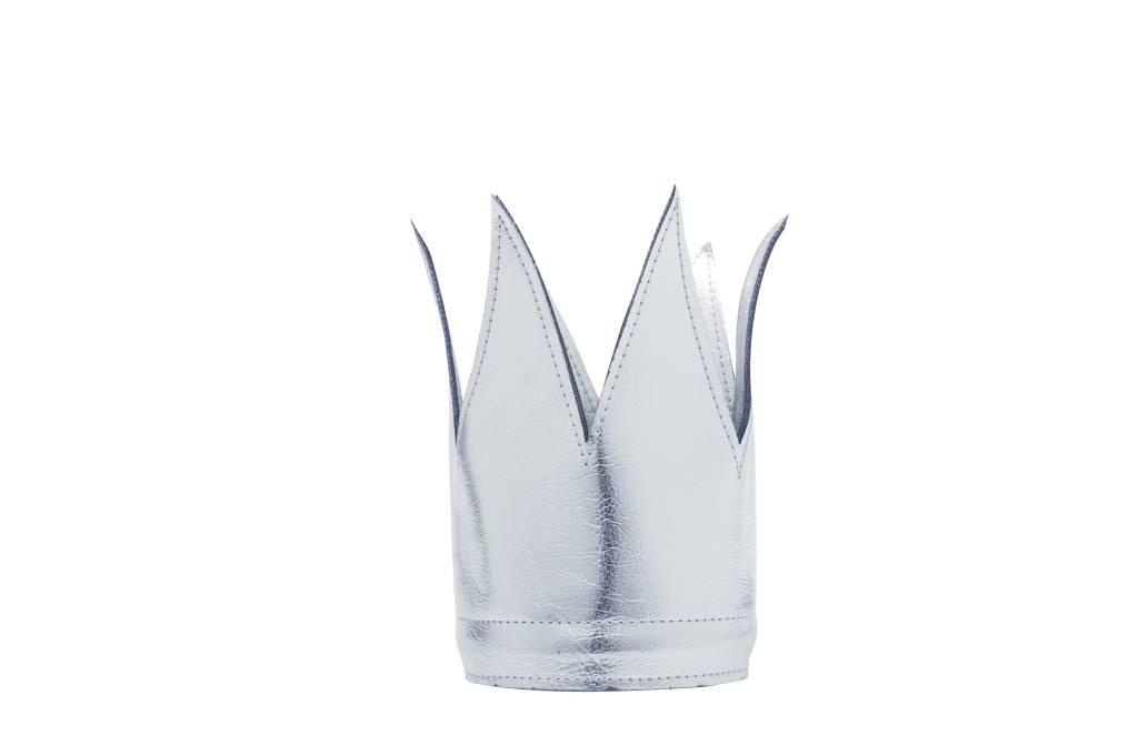MOUCHE silver crown pvc