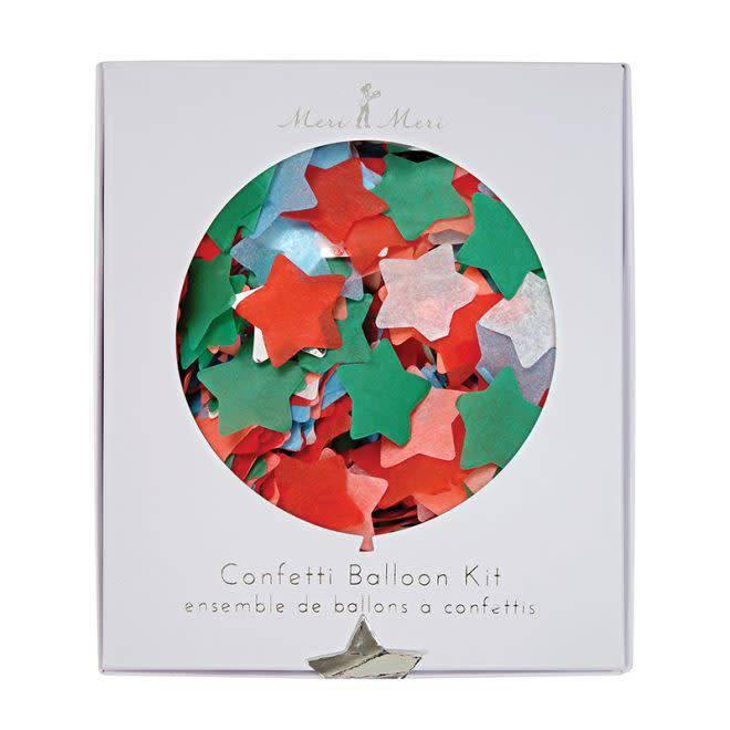 MERIMERI Star confetti Christmas balloon kit