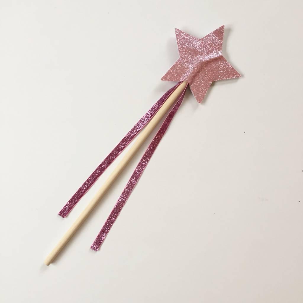 RATATAM magic wand pink glitter