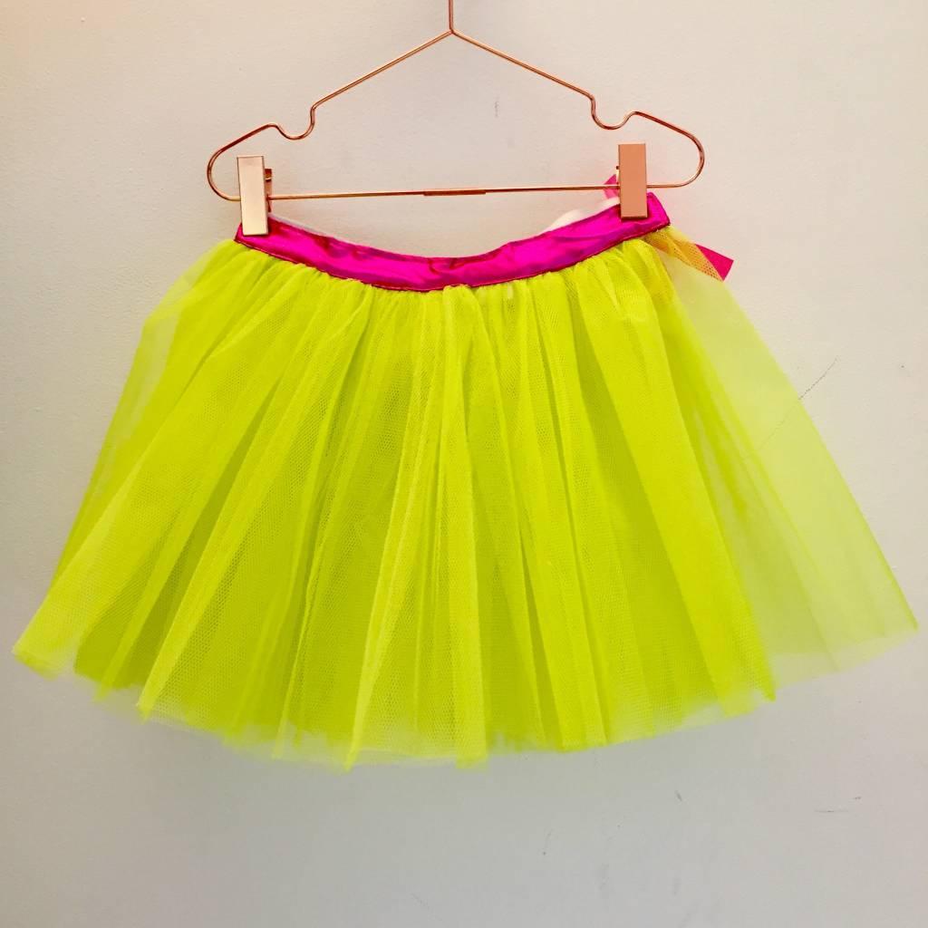 RATATAM tutu neon yellow / pink M