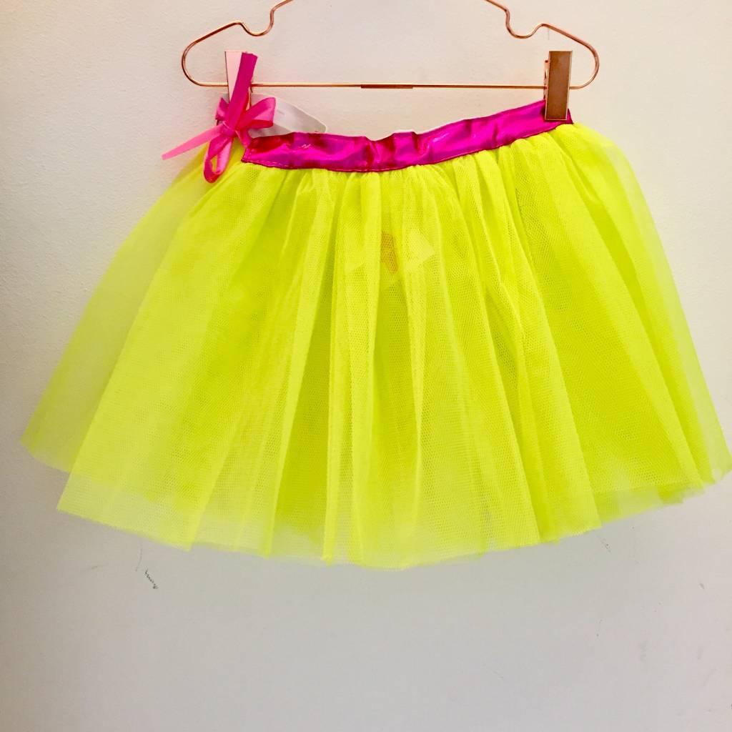 RATATAM tutu neon yellow / pink L