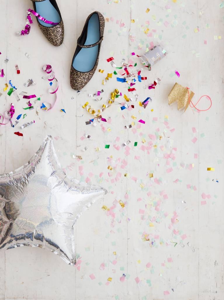 MERIMERI boxed iridescent confetti