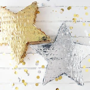 FT pinata gold star 45 cm.