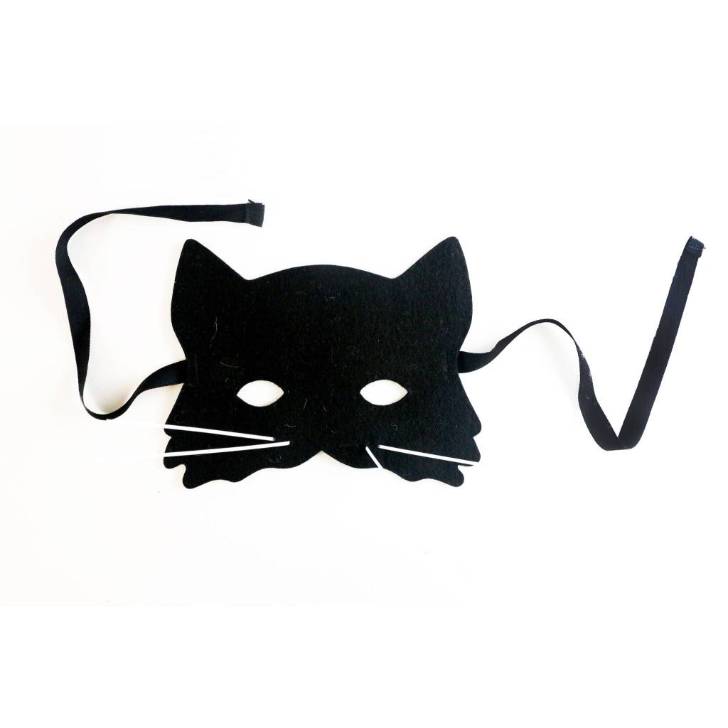 FRIDAS TIERCHEN black cat mask