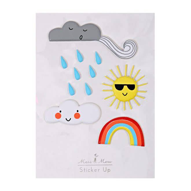 MERIMERI Weather stickers