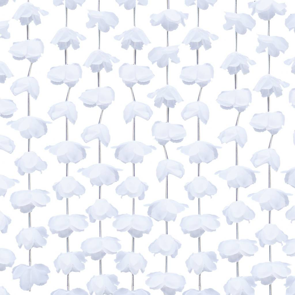 GINGERRAY white floral back drop - rustic country