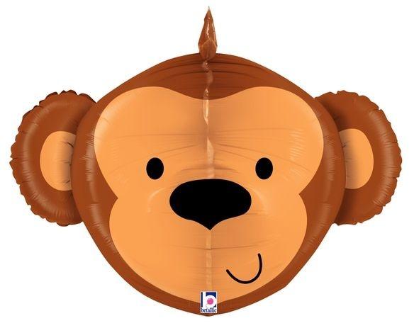 SMP dimensional monkey foil balloon 69 cm
